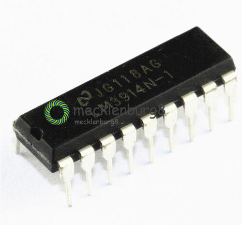 5PCS X  LED Display Driver IC NSC DIP-18 LM3914N-1 LM3914N-1//NOPB