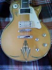 les paul guitar jay turser rockabilly custom paint pinstripping