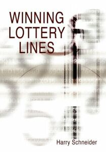 Winning Lottery Lines by Schneider, Harry Hardback Book The Cheap Fast Free Post