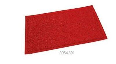 Radient Bodenmatte Türmatte Schmutzfänger Matte Rot 80x60 Cm Gastlando Moderate Kosten