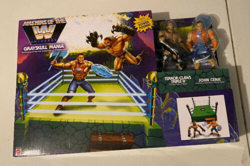 WWE Masters of the Universe GREYSKULL Anello MANIA Mattel John Cena all/'Triple H Nuovi