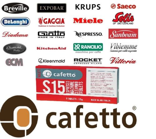 Cafetto S15 Espresso Coffee Machine Cleaning 16 Tablets Designed for BREVILLE