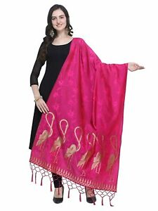 Multi Indian women fashion Bhagalpuri silk printed dupatta,Scarf,Chunni,Stole