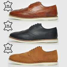 """"""" REAL LEATHER """"  Red Tape Tirley Casual Formal Brogue Desert Fashion Shoes"""