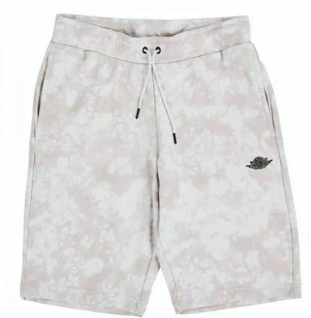 Mens Air Jordan Fadeaway Shorts AQ8024-072 Light Bone Brand New Size M