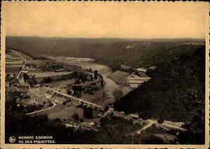 Membre-sur-Semois-Belgien-1937-frankierte-AK-Carte-Postale-CPA-Vu-des-Piquettes