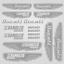 POUR DUCATI SCRAMBLER Autocollant 16x Replica vélo vintage Wings Tank HELMET decals
