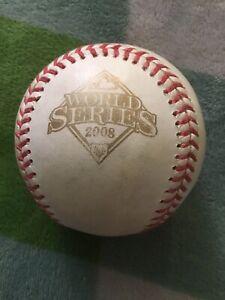 Rawlings 2008 MLB World Series Baseball Signed By? See Desc