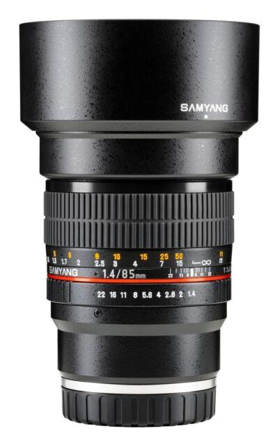 Samyang 85mm F/1.4 MF IF MC ASP Lens For Sony-E (New Product)