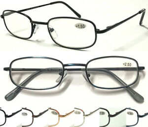 38ad10c166bc Image is loading L79-High-Quality-Mens-Reading-Glasses-Spring-Hinges-
