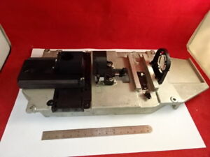 LEICA-DMR-OPTICAL-ASSEMBLY-HEAD-TOP-MICROSCOPE-PART-OPTICS-AS-IS-H9-A-02