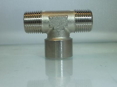 1//2 Bsp Male Centre Tee with Female outlets 3 Way Tee Fitting 1 Off