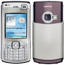 Nokia N70 Silver (Ohne Simlock) Smartphone 3G VIDEOANRUF 2,0MP FM Made Germany
