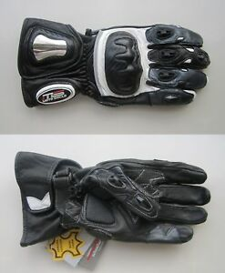 Motorbike Professional Unisex Motorcycle Long Leather Gloves