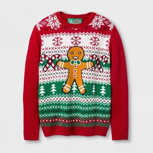 Ugly Christmas Sweater Green G-MAN CHECK FOR SIZE Boys/' Pullover Sweaters