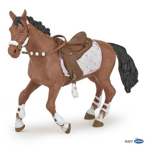 Papo 51553 cheval par la cavalière fashion hiver 12 cm Pferdewelt
