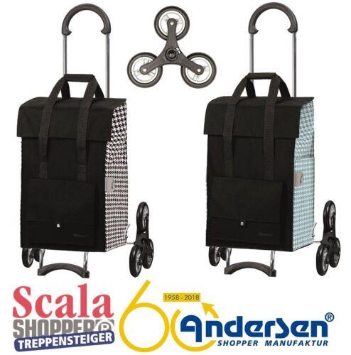 Andersen Scala Shopper scale Steiger EDA carrello spesa Carrellino spesa