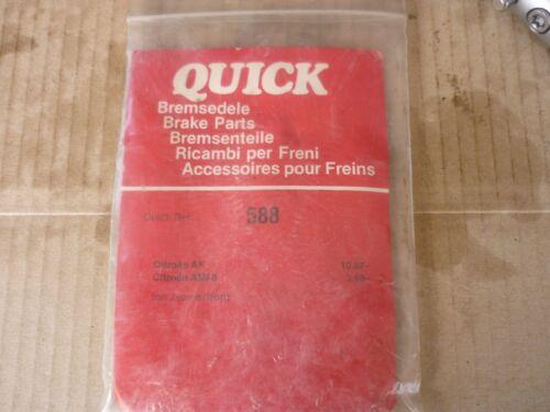 QUICK BRAKE Bremsbacken Zubehörsatz 0588 Bremsfedersatz NEU OVP Citroen Ami 8 AK