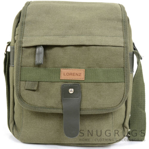 Shoulder Travel Ladies //Womens //Mens CanvasMessenger Work Bag Cross Body