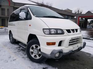 Mitsubishi Delica Space Gear 4x4 Vans