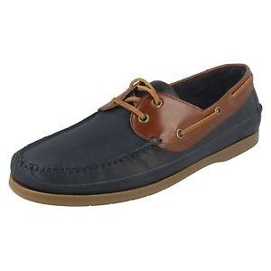 455115255cb Anatomic   Co  Viana  Men s Navy Havana Lace Up Leather Deck Shoes ...