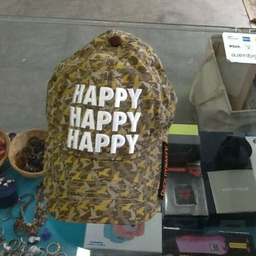 Duck Dynasty Happy Happy Happy camo Hat