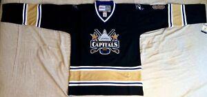 2006-Alexander-Ovechkin-Washington-Capitals-Black-Jersey-Size-Men-s-Medium
