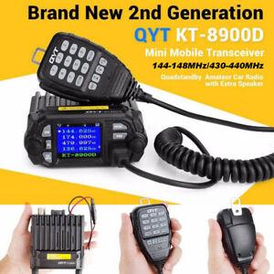 Mini-QYT-KT8900D-Dual-Band-Quad-Standby-5Tone-25W-VHF-UHF-Car-Truck-Mobile-Radio