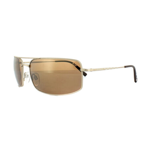 Serengeti Sunglasses Treviso 24h Le Mans 8484 Satin Gold Drivers Gold Polarized