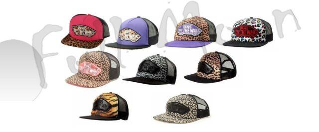 5b3b05bf0ad NEW VANS Vans Tiger or Leopard Trucker Hat Cap Snapback