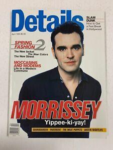 Details Magazine April 1994 - Morrissey, Amy Brenneman