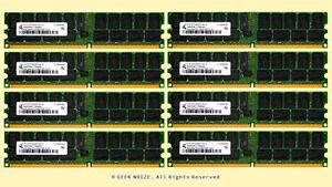 Server-RAM-32G-8x-4GB-PC2-5300P-FITS-HP-xw9400-ECC-REG-DDR2-667-Memory-LOT