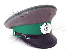 DDR Grenztruppen Schirmmütze Uniform - Mütze 56 East german Border guard hat GDR