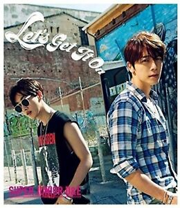 Details about SUPER JUNIOR DongHae & EunHyuk D&E Japan 4th Single [Let's  Get It On] CD+DVD F/S