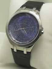 Accurist Gents Celestial Timepiece Blue Dial Watch GMT318UK RRP £295 UK Stockist