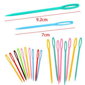 20Pcs-Set-Mixed-Color-Hand-DIY-Sewing-Knitting-Craft-Plastic-Darning-Needles
