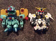 """Bandai SD Gundam 4.5"""" Figure Toy Lot Of 2 2003"""
