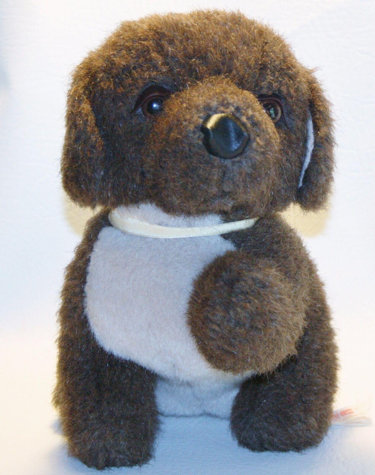 Plush Toy Puppy Dog Vintage PBC Pacific Balloon Co Lovey 9
