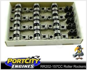 Crow-Cam-Roller-Rockers-Holden-6cyl-179-186-202-Red-Blue-Black-7-16-RR202-157CC