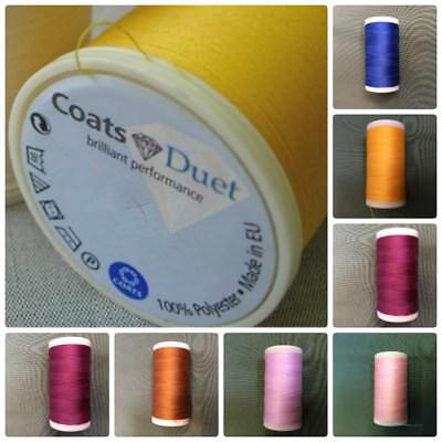 4115 Coats Duet Sewing Thread 100/% Polyester Cordonnet 30m