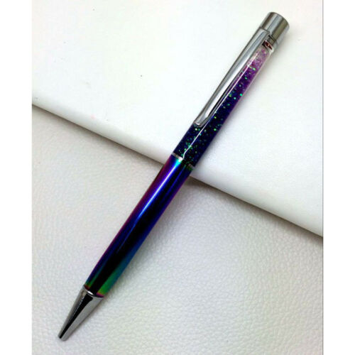 Colorful Glitter Crystal Ball-Point Pen Marker Pen Student Office Stationery C