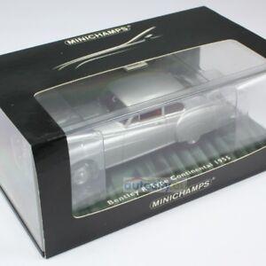 Minichamps Bentley Continental R Silver 436139421