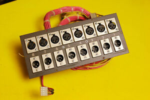 SONY-MCI-JH-114-Original-REAR-Panel-Board-Connector-XLR-JH24-JH16-JH100-JH114