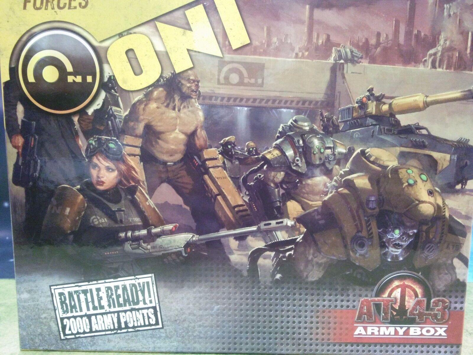 AT-43 caja del ejército Oni