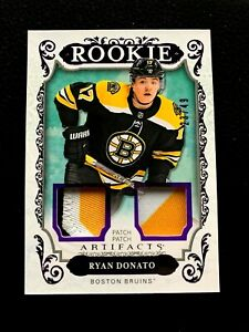 2018-19-Artifacts-Materials-Purple-164-Ryan-Donato-49