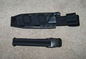 2X Waist Clip Sheath Kydex Scabbard Clamp For Belt Molle Multifunctional