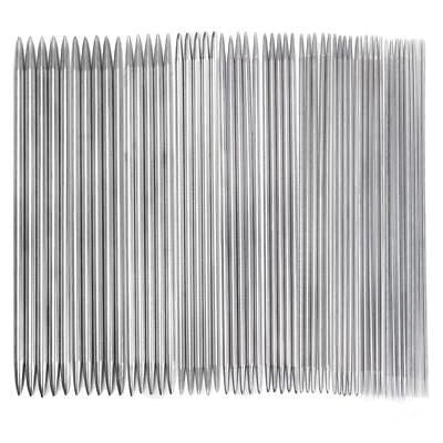 in acciaio INOX 2 mm Set da gioco di ferri da maglia a punta singola 7 mm