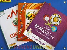 Panini★WM World Cup EURO EM★3x Leeralbum/empty album 2008 2010 2012