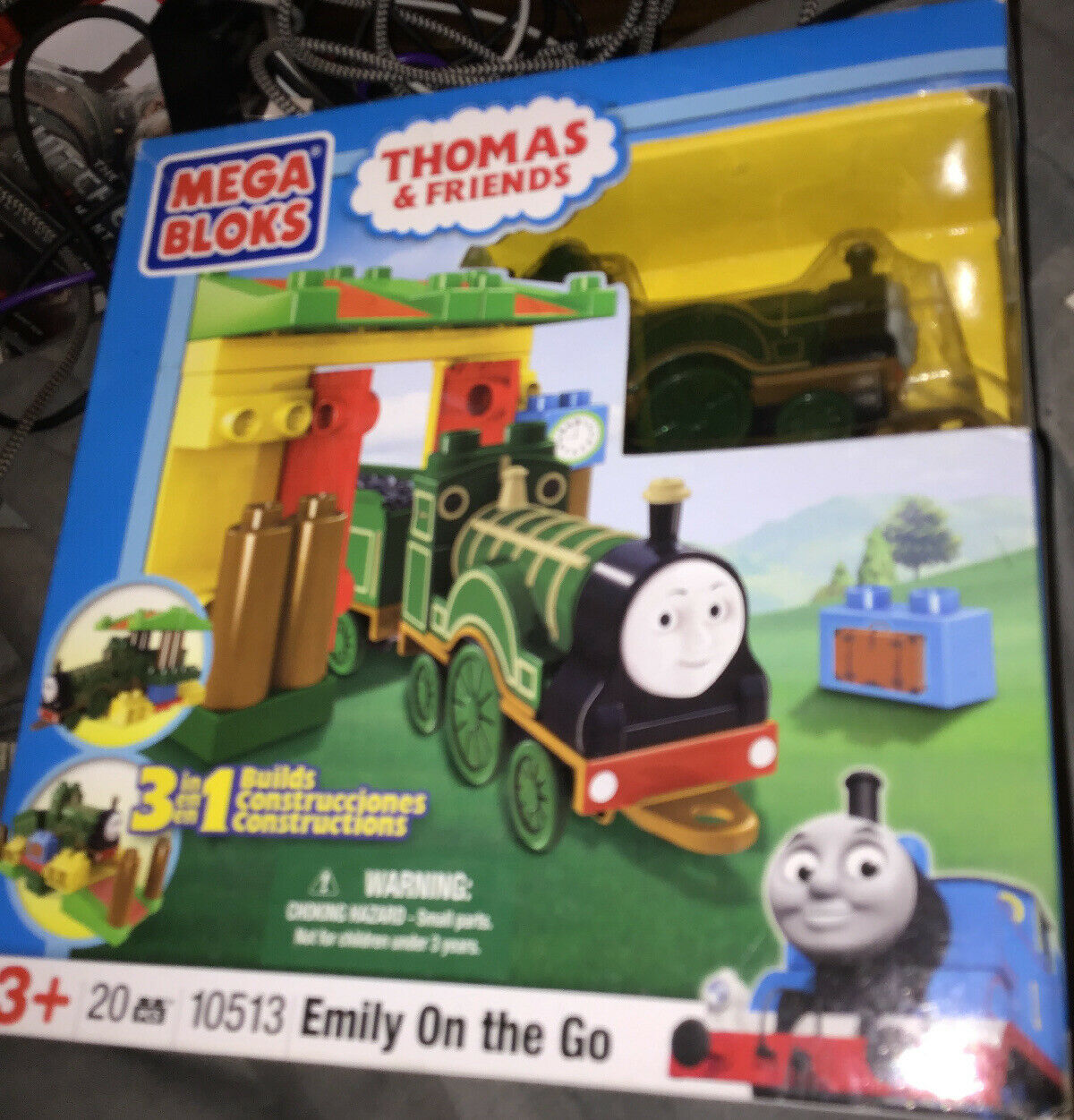 Mega Bloks Thomas The Train Friends 3 In 1 Buildable Emily On