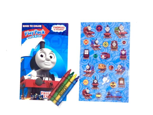 Thomas The Train Travel Pack With Stickers Crayons And Coloring Activity  Book... For Sale Online EBay
